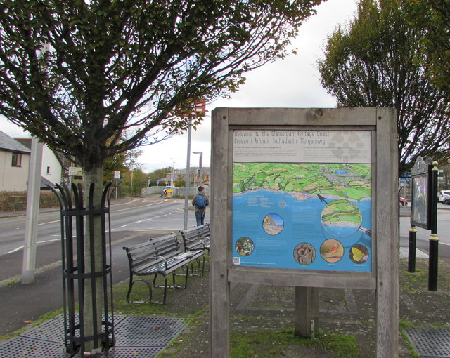 Welcome to the Glamorgan Heritage Coast, Llantwit Major