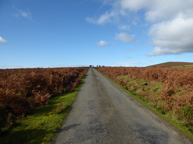 Lane across open access land or common land
