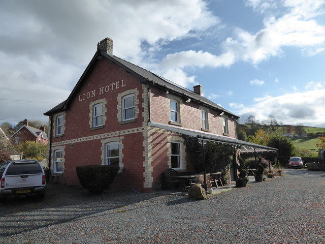 The Lion Hotel, Llanbister by Jeremy Bolwell
