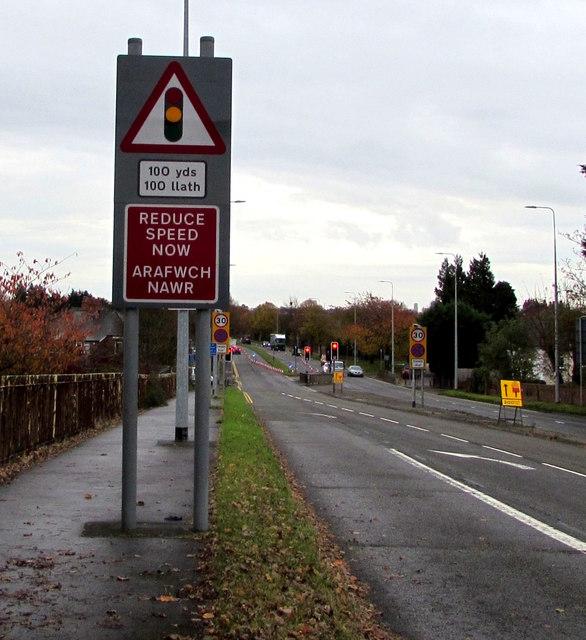 Reduce Speed Now/Arafwch Nawr, Northern Avenue, Whitchurch, Cardiff