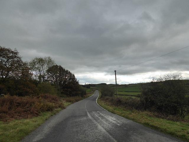 Long sloping lane