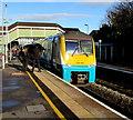 SS9079 : Class 175 dmu in Bridgend station by Jaggery