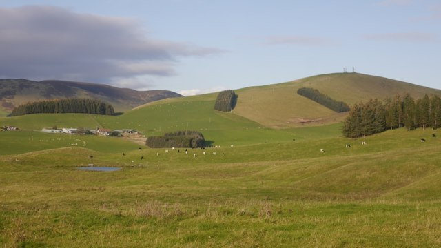 Fields above Candymill