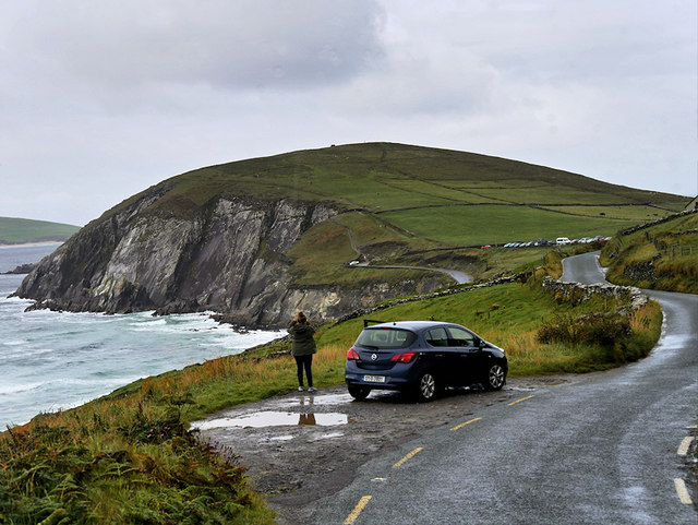 Slea Head Drive, Passing Place and Viewwpoint near Dumnore Head