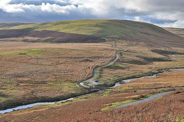 The Elan valley at Pont ar Elan