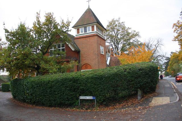 Junction of Basingstoke Road and Chapel Lane
