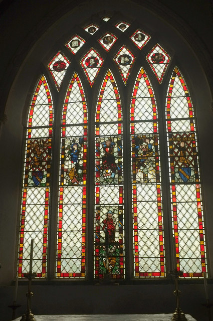 Window, Church of St Andrew, Bere Ferrers