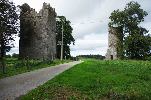 Burnchurch Castle and turret tower, Burnchurch, Co. Kilkenny