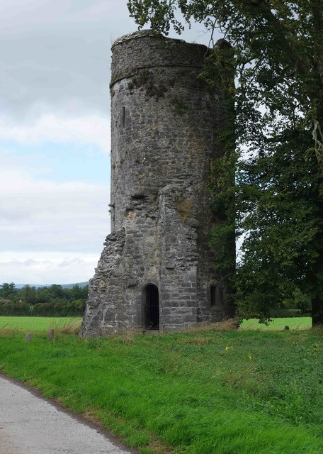 Turret type tower at Burnchurch Castle, Burnchurch, Co. Kilkenny