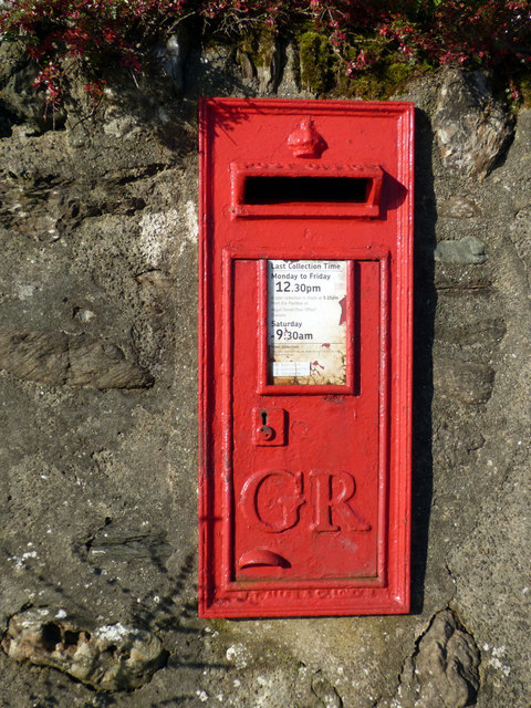 Postbox on Shore Road