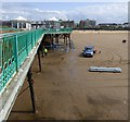 SD3128 : Maintaining St Annes' pier by Gerald England
