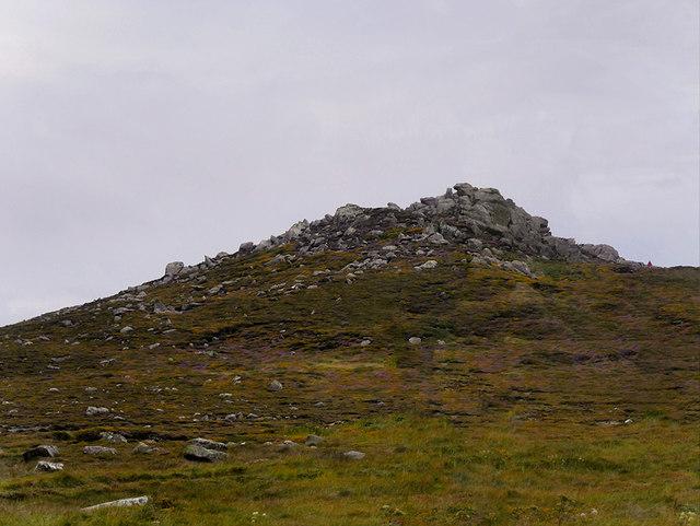 A Rocky Hill near Clogher Head