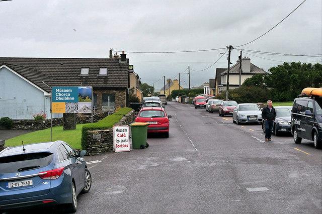 Main Street, Ballyferriter Village