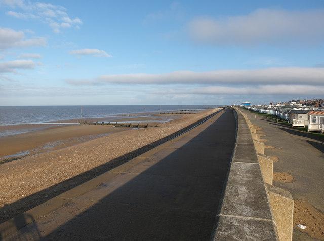 Sea defences, Hunstanton