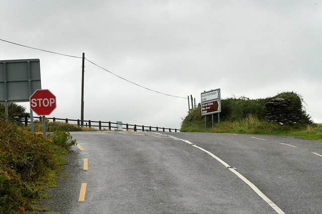 Slea Head Drive Junction at Ballynana