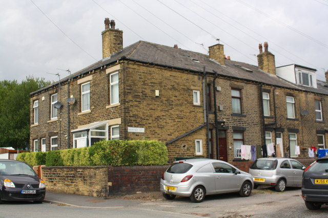 Houses at junction of Wilson Road and Barmby Street
