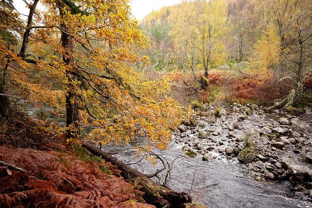 River Orrin near Fairburn Tower