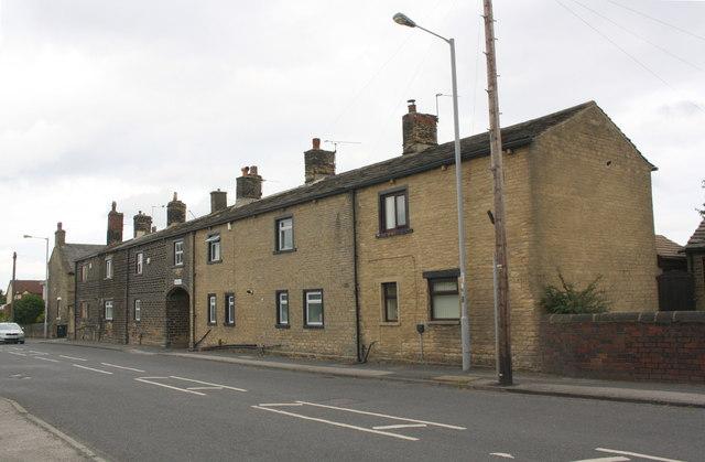 Houses of Nab End, Wyke Lane