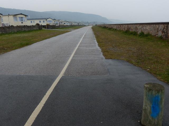 Wales Coast Path at Abergele