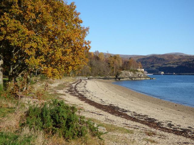 Beach at Finart Bay