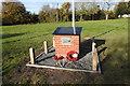 TM1383 : New War Memorial at Burston by Adrian S Pye