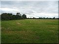 SU0991 : Cut silage field near Ballickacre Farm by JThomas