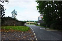 S4747 : Road approaching a T-junction, Burnchurch, Co. Kilkenny by P L Chadwick