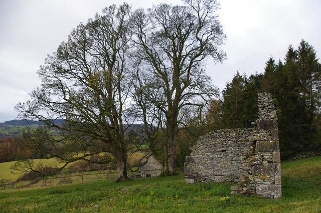 Ruin, High Birks