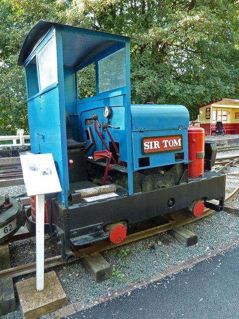 Devon Railway Centre - Simplex locomotive Sir Tom