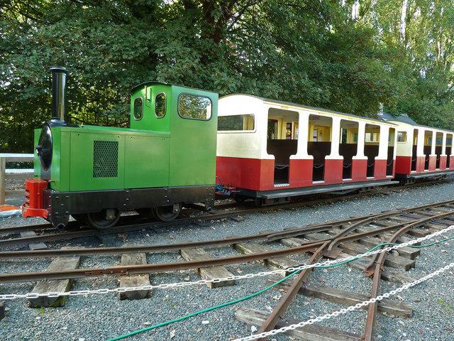 Devon Railway Centre - Ivor the engine