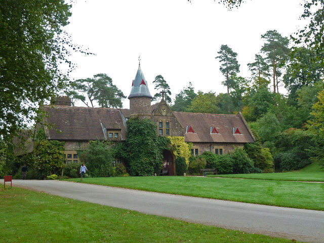Knightshayes Court - the stable block