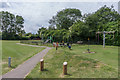 TQ1556 : Cannon Court Recreation Ground by Ian Capper