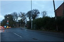 TL4298 : Road works on Station Road, March by David Howard