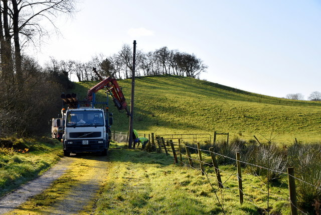 Temporary diversion of telephone line, Bancran