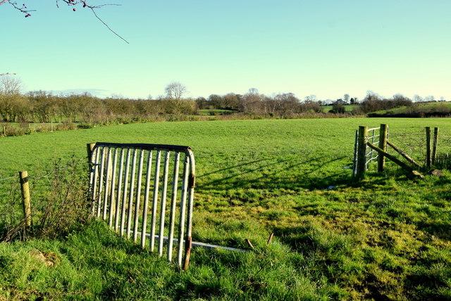 Gate between fields, Bancran