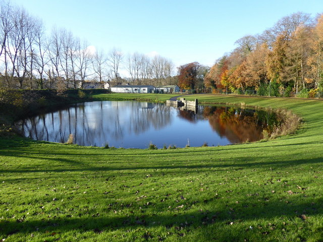 Boating pond, Lisnamallard, Omagh