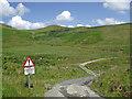 SN7454 : Cwm Doethie Fawr north of Blaendoethie, Ceredigion by Roger  Kidd