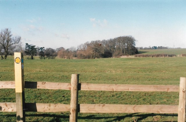 The Leicestershire Round between Ashby Folville and Gaddesby
