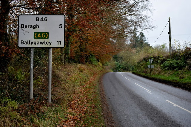 Sign, Moylagh Road