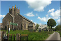 SS5623 : St Andrew's church, Yarnscombe by Derek Harper