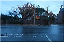 TF4706 : Fridaybridge Road at the junction of Abington Grove by David Howard