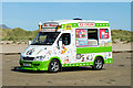 SH5336 : Mrs Whippy on Black Rock Sands by Jeff Buck