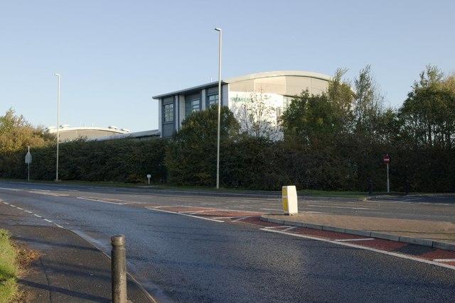 Siemens building viewed from Mill Lane