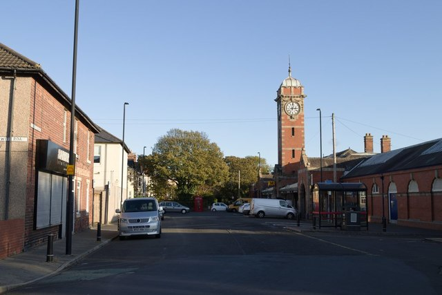 Station Square, Whitley Bay