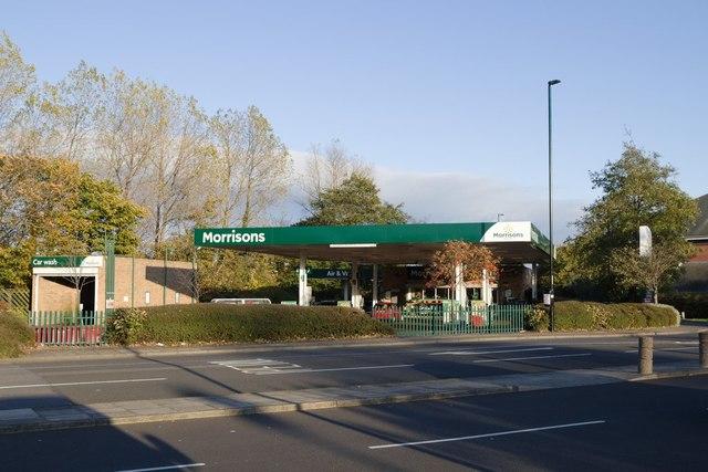 Morrisons petrol station, Whitley Bay