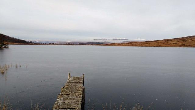 Loch Monaghan, frozen by Aleks Scholz
