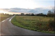 TL3781 : Farm track off Chatteris Road by David Howard