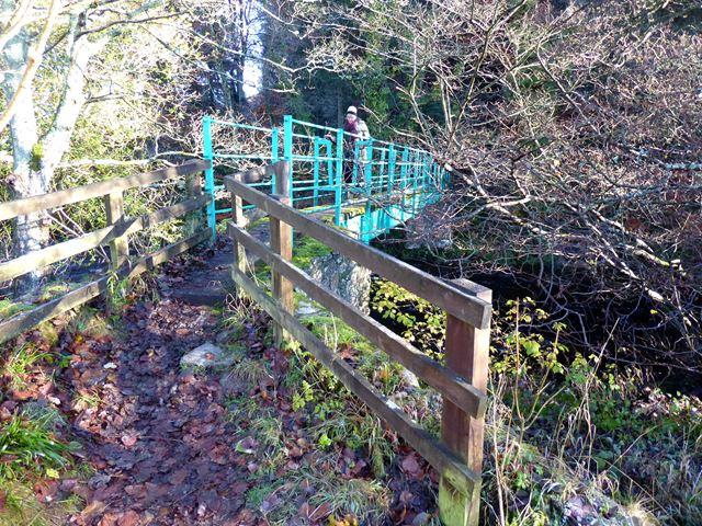Footbridge at Pethfoot Bridge