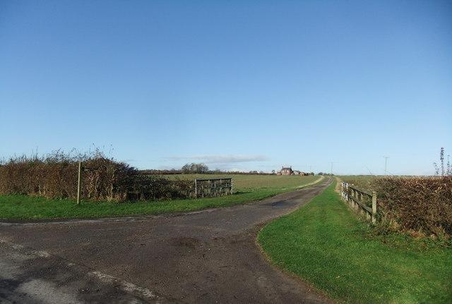 Entrance to Vicarage Farm
