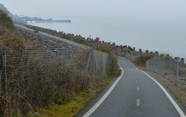 Heading west along the Wales Coast Path